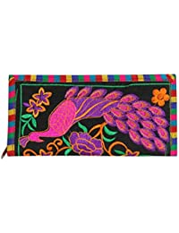 Streetkart Kutchi Art Work Ethnic Peacock Hand Clutch