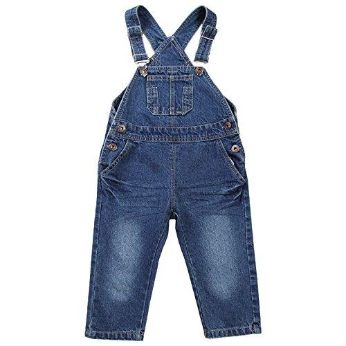 ZOEREA Baby Trägerhose Latzhose mit zwei Tasche Fashion Baumwolle