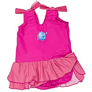 Splash About Maillot de bain à jupette pour fille Rose Pink/Mango 1-2 ans