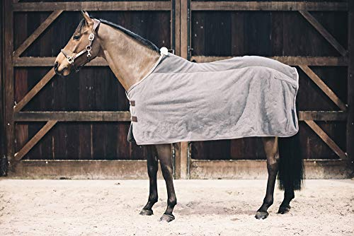 Kentucky Abschwitzdecke Fleece Heavy - grau
