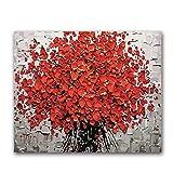 MAIYOUWENG Puzzle Adulte 1000 Pièces en Bois Puzzle - Un Bouquet De Fleurs Rouges Adulte Enfants Jouets Éducatifs Cadeau Art pour Adultes