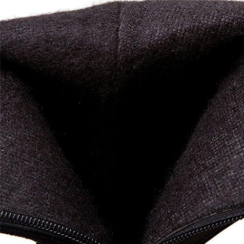 BalaMasa Noir femme Sandales Compensées Abl09925 rWHnqITr