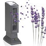 Tevigo - Ioniseur et Purificateur d'Air Anti-Allergies aux Animaux de Compagnie _ Technologie Allemande Ions à Plasma _Gris