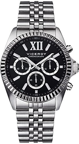 Viceroy ref: 4322217Knight–53. Caisse d'acier, Chronographe, Water Resistant 50m