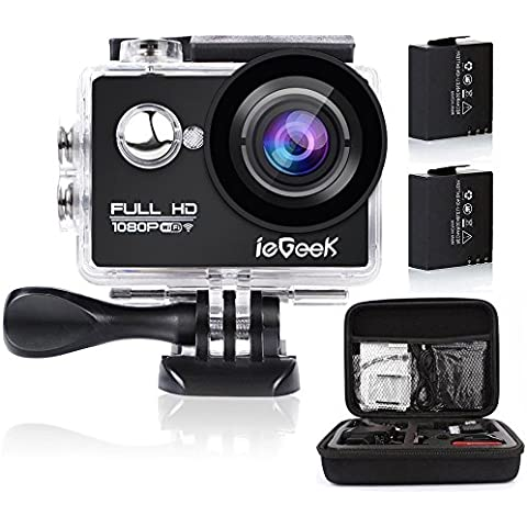 ieGeek Action Camera Sport WiFi 1080P Full
