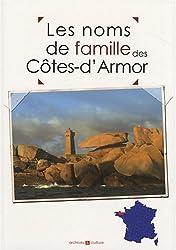 Les noms de famille des Côtes d'Armor