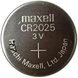 Maxell CR2025 Pile Bouton Lithium (3 V)