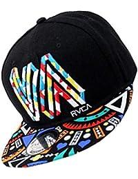 Unisex algodón de primera calidad Snapback del sombrero de Hip Hop  ajustable Bill plano gorras de ffb9b29ab64