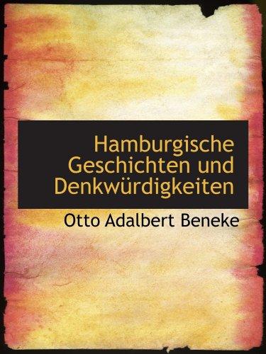 Hamburgische Geschichten und Denkwürdigkeiten