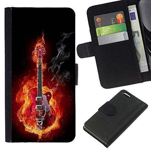 Graphic4You Niedlich Plastic Stars Design Brieftasche Leder Hülle Case Schutzhülle für Apple iPhone 5C Design #5