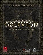 Elder Scrolls IV - Oblivion Game of the Year: Prima Official Game Guide de Bethesda Softworks