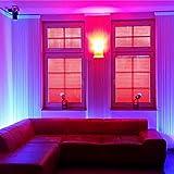 LED UV Röhre 150cm 5050 SMD Schwarzlicht ultraviolettes Licht Leuchtstofflampe UV Neonröhre Tube T8 Leuchte Lampe für 12V Gleichstrom Leuchtstoffröhre dimmbar 230V Party Club Disko Schlafzimmer Lampe Licht Wellenlängenbereich 380nm – 315nm fluoreszierende 600mm mit Netzteil