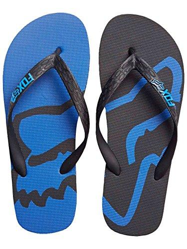 fox-beached-sandalen-44-schwarz-blau