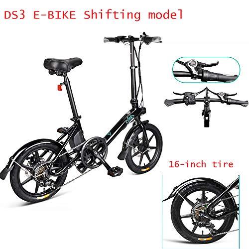 Bicicleta eléctrica plegable para adultos, cambio de bicicleta eléct
