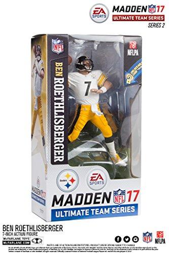McFarlane NFL Madden 17 Series 2 BEN ROETHLISBERGER #7 - PITTSBURGH STEELERS Figur (Steelers Mcfarlane)
