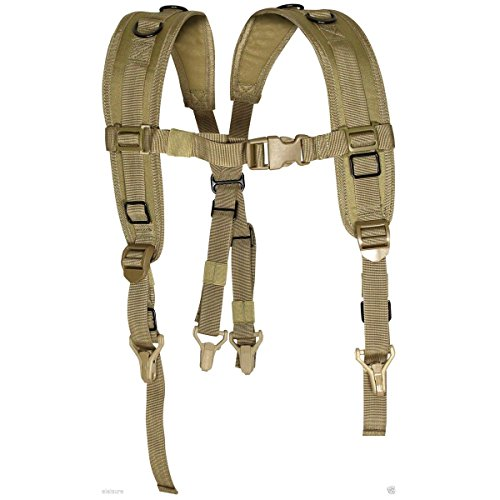 VIPER TACTICAL PLCE LOCKING HARNESS CHEST STRAP MOLLE BELT SUPPORT AIRSOFT ARMY