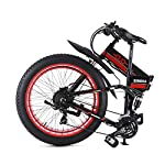GUNAI-Bici-Elettrica-FrenDisco-Idraulico-Shimano-21-velocit-Bici-da-Montagna-1000W-per-Spiaggia-e-Neve