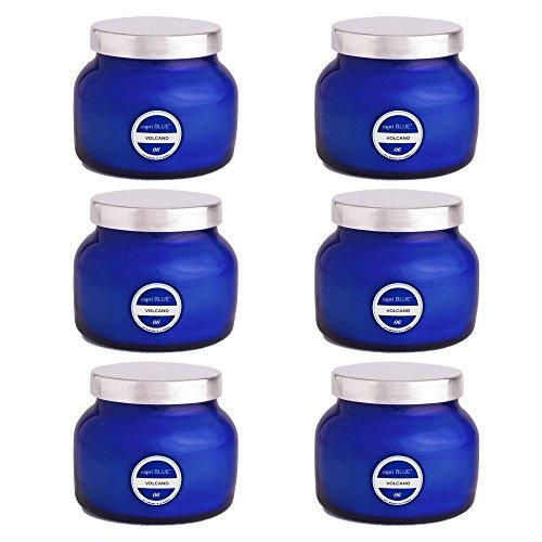 Capri Blue Petite Volcano Duftkerze im Glas, 227 ml, 6er-Pack One Size Volcano -
