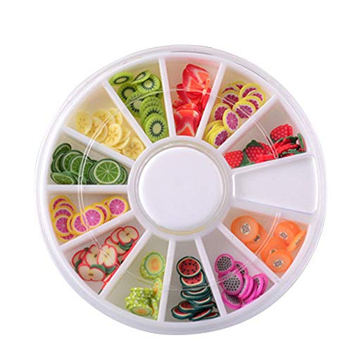 Elevin(TM) _ Toys & Joker Fruit Cake Slices Softscented Stress Relief Toy Sludge Toys for Slime Large A