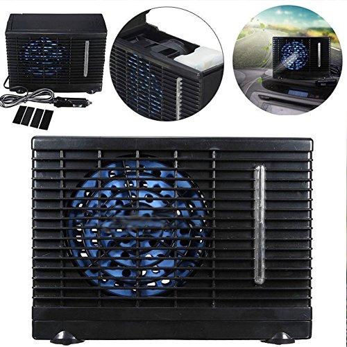Yosoo 12V Mini Rafraîchisseur d'air Voiture Climatiseur Ventilateur Portable Refroidisseur d'eau évaporatif
