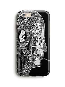 Evil skull iPhone 6/6s Phone Case
