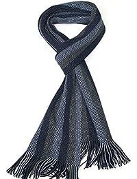 Lovarzi Men's Striped Scarf - Winter Scarves for Men