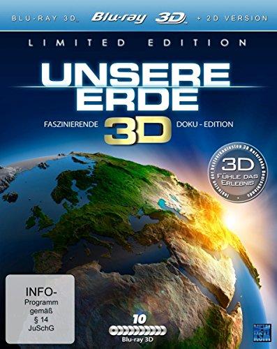 Unsere Erde 3D (10 Dokus Limited...