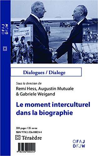Lire Le moment interculturel dans la biographie epub, pdf