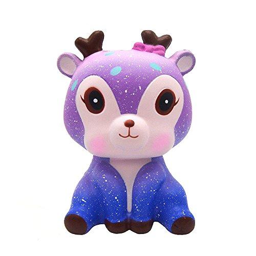 mi ji Squishy Kawaii,Squishy Ciervo,Squishy Doll de Diseño...