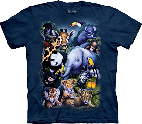 The Mountain Unisex Kinder Gr. XL Zoo Tiere T Shirt -