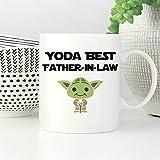 Yoda Mug avec inscription « Best Father in Law »