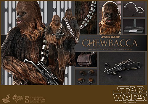 Hot Toys Star War Episode IV A New Hope Chewbacca 1/6 Scale Figure by Hot Toys