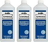 7Zwerge I 3 x 1000ml Wasserbett Conditionierer I Konditionierer I Conditioner I Waterclean I Kompatibel mit Allen Wasserbetten