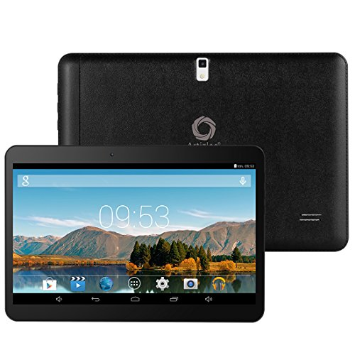 Artizlee ATL-21 3G Tablet PC 10 Zoll (10,1″) HD Display, Dual-Sim, 16GB ROM + 1GB RAM, Dual Core, Android 4.4, Wifi, WLAN, OTG, Bluetooth, GPS, Kamera (Schwarz)