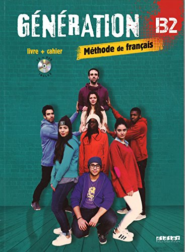 Génération 4 niv. B2 - Livre + Cahier + CD mp3 + DVD por Carla Baracco