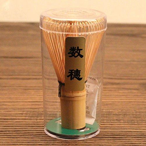 Chasen Bamb/ú Herramientas Batidor de Polvo Matcha T/é Japon/és Accesorio Ceremonia