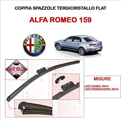 AERZETIX: Set di 3 spazzole per tergicristalli anteriore e posteriore 50cm 45cm 40cm