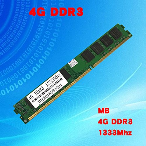 Price comparison product image Dailyinshop 2GB / 4GB / 8G DDR3 1333MHz 1600MHz PC3-10600 PC3-12800 DIMM Memory RAM For Laptop(Color:green)