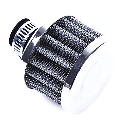 Eleusine Auto Luftfilter Turbo Vent Kurbelgehäuseentlüftung High Flow Kegel Cold Air Intake Filter Drop Shipping (Titan Farbe) -