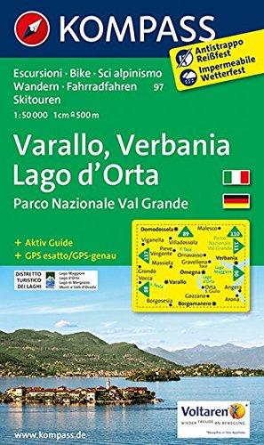 Varallo 97 GPS wp kompass D/I Verbanio - Lago d'Orta par Kompass-Karten