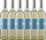 6er Paket La vie est belle blanc 2017 - La vie est belle | lieblicher Weißwein | französischer Sommerwein aus dem Languedoc | 6 x 0,75 Liter
