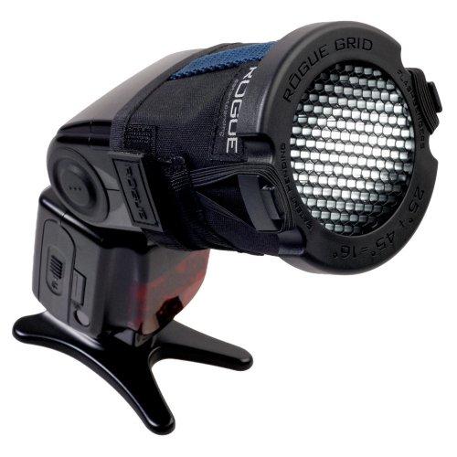 Rogue Grid 3-in-1 Honeycomb Grid Wabenfilter (Blitzkegel formen zu 16, 25 oder 45 Grad, Tasche) für Blitzgeräte