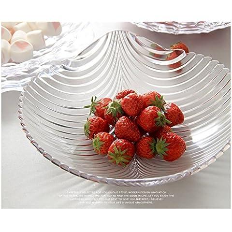 Creativo conchiglie domestici piatto di frutta in
