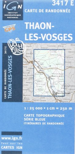 Thaon-les-Vosges: IGN3417E (Ign Map)