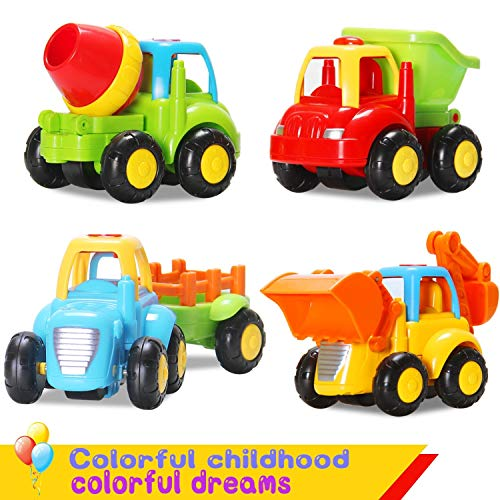 Stylastra Pack of 4 Construction Vehicle Set ( Pack of 4 )