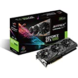 Asus ROG Strix GeForce GTX1080-O8G Gaming Grafikkarte (Nvidia, PCIe 3.0, 8GB GDDR5X Speicher, HDMI, DVI, DisplayPort)