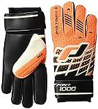 Pro Touch Torwart-Handschuhe Force 1000 PG, Orange/Schwarz/Weiss, 11
