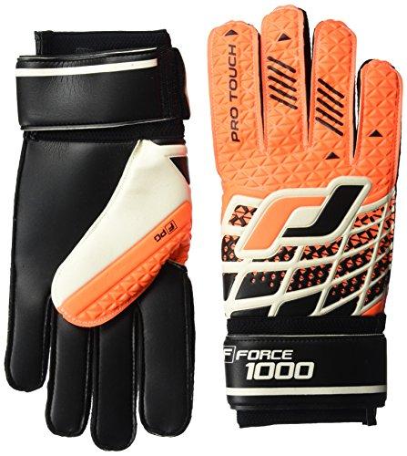 Pro Touch Torwart-Handschuhe Force 1000 PG Orange/Schwarz/Weiss, 11 (Weiße Adidas Fußball Handschuhe)