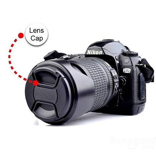mark8shop Universal Center Pinch Snap auf Vorder-Kappe für Objektiv 49-82mm 82-mm-snap