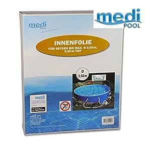 Poolfolie rund 3 60 x 0 92 m x 0 25 mm schwimmbadfolie for Poolfolie rund